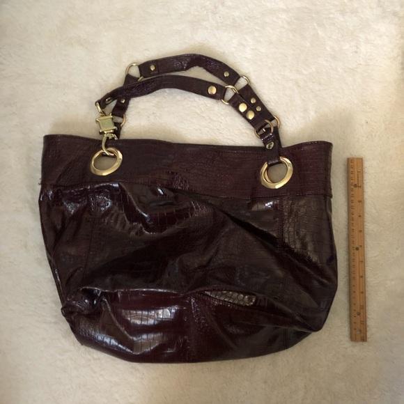 Steve Madden Handbags - Steve Madden Burgundy Tote